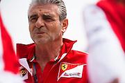 April 10-12, 2015: Chinese Grand Prix - Maurizio Arrivabene, team principal of Scuderia Ferrari