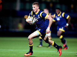 Michael Dowsett of Worcester Warriors runs with the ball - Mandatory by-line: Robbie Stephenson/JMP - 04/11/2016 - RUGBY - Sixways Stadium - Worcester, England - Worcester Warriors v Bristol Rugby - Anglo Welsh Cup