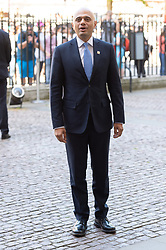 © Licensed to London News Pictures. 22/06/2018. London, UK. Home secretary SAJID JAVID MP attends a service of Thanksgiving at Westminster Abbey to mark the 70th Anniversary of the Landing of the Windrush. The MV Windrush ship docked at Tilbury in the Port of London on 22nd June 1948 and  was carrying 492 passengers from the port of Kingston in Jamaica. Photo credit: Ray Tang/LNP