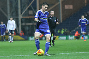 Brentford Midfielder Sergi Canos during the Sky Bet Championship match between Preston North End and Brentford at Deepdale, Preston, England on 23 January 2016. Photo by Pete Burns.