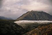 Root Glacier, glacier, glacier moraine, moraine, McCarthy, Kennicott, Wrangell-St. Elias National Park, Alaska