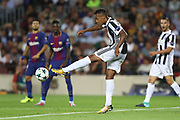 Alex Sandro of Juventus during the UEFA Champions League, Group D football match between FC Barcelona and Juventus FC on September 12, 2017 at Camp Nou stadium in Barcelona, Spain - Photo Manuel Blondeau / AOP Press / ProSportsImages / DPPI