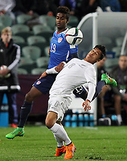 Auckland-Football, Under 20 World Cup, New Zealand v USA