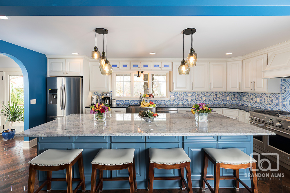 Kitchen at a home located in Springfield, MO.