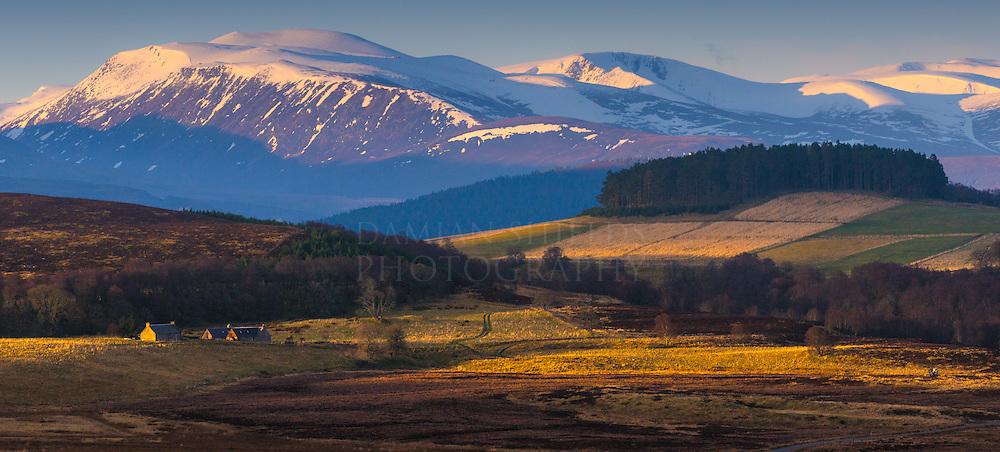 First light on the Cairngorms, Moray, Scotland