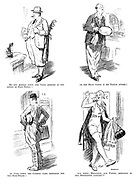 No one minded when the chief arrived at the office in plus fours—or the head clerk in his tennis attire—or even when the cashier came prepared for the dirt-track—but when Millicent, our typist, appeared in her serpentine costume!!!