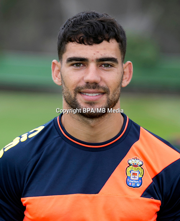 Spain - La Liga Santander 2016-2017 / <br /> ( UD Las Palmas ) - <br /> Pedro Tanausu Dominguez Placeres &quot; Tana Dominguez &quot;