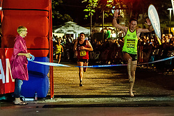 Winner in barefoot category Ziga Koprivnik run Nocna 10ka 2018, traditional running around Bled's lake, on July 14, 2018 in Bled, Slovenia. Photo by Grega Valancic / Sportida