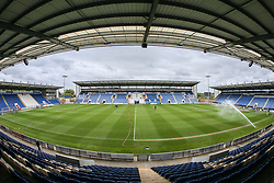 A general view of the stadium - Mandatory by-line: Arron Gent/JMP - 27/04/2019 - FOOTBALL - JobServe Community Stadium - Colchester, England - Colchester United v Milton Keynes Dons - Sky Bet League Two