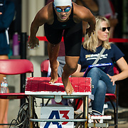 16 November 2017: The San Diego State women's swim team competes in the 2017 A3 Performance Invitational held at the SDSU Aquaplex. SDSU freshman Larisa Tam competes in the 200 yard IM.<br /> www.sdsuaztecphotos.com