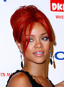 Rhianna poses at the 5th Annual DKMS Gala at Cipriani Wall Street in New York City on April 28, 2011.