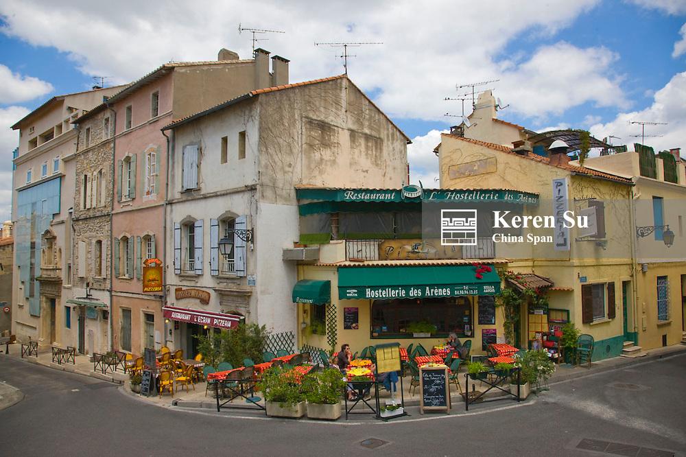 Old houses, Arles, France
