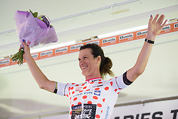 Natalie van Gogh retains the mountain jersey at Boels Rental Ladies Tour Stage 4 a 121.4 km road race from Gennep to Weert, Netherlands on September 1, 2017. (Photo by Sean Robinson/Velofocus)