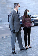 051820 Spanish Royals attends the presentation of CETOTEC 2020 report