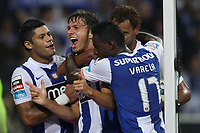 20110923: PORTO, PORTUGAL – FC Porto vs SL Benfica: Portuguese League 2011/2012. In photo: Kleber, Hulk, Varela and Rolando . PHOTO: Ricardo Estudante/CITYFILES