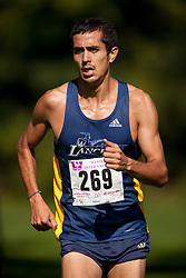 London, Ontario ---11-09-24--- Andrew Aguanno of the Windsor Lancers competes in the 2011 Western International at Thames Valley Golf Course in London, Ontario, September 25, 2011...GEOFF ROBINS Mundo Sport Images