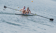 Caversham. Berkshire. UK<br /> Molesey BC, Gabby RODRIGUEZ and Aimee JONCKERS,<br /> 2016 GBRowing U23 Trials at the GBRowing Training base near Reading, Berkshire.<br /> <br /> Tuesday  12/04/2016<br /> <br /> [Mandatory Credit; Peter SPURRIER/Intersport-images]