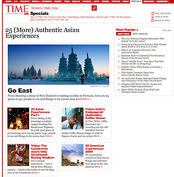Time magazine; image of Harbin ice festival