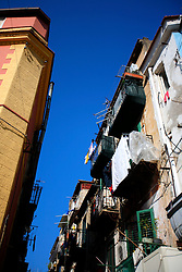 ITALY SICILY PALERMO 29APR08 - Balconies and facades near the port of Palermo, Sicily.. . jre/Photo by Jiri Rezac. . © Jiri Rezac 2008. . Contact: +44 (0) 7050 110 417. Mobile:  +44 (0) 7801 337 683. Office:  +44 (0) 20 8968 9635. . Email:   jiri@jirirezac.com. Web:    www.jirirezac.com. . © All images Jiri Rezac 2007 - All rights reserved.