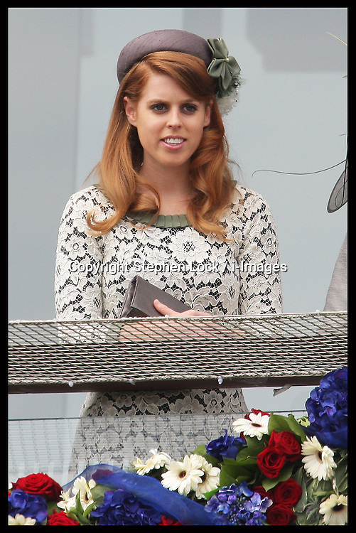 Princess Beatrice  at  the Epsom Derby, Saturday, 2nd June 2012.  Photo by: Stephen Lock / i-Images