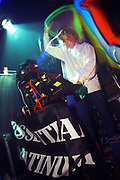 Man djing at a rave, 12/4/1997, DOUGAL PLEASUREDOME