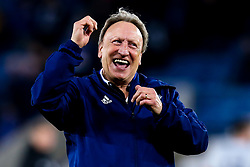 Cardiff City manager Neil Warnock celebrates victory over Leicester City - Mandatory by-line: Robbie Stephenson/JMP - 29/12/2018 - FOOTBALL - King Power Stadium - Leicester, England - Leicester City v Cardiff City - Premier League