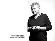 Franco La Cecla, antropologo e architetto.