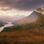 Loch Leven in Autumn from Meall an Doire Dharaich