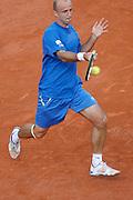 Roland Garros. Paris, France. June 2nd  2008..Ivan LJUBICIC against Gael MONFILS..Round of 16 (4th Round)...