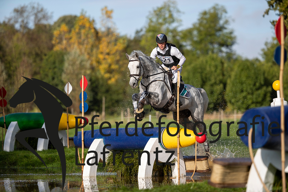 Mcnab Kevin, AUS, Scuderia 1918 Humphreys<br /> Le Lion d'Angers - Eventing World Breeding Championship 2019<br /> Teilprüfung Cross-Country 6 jährige<br /> 19. Oktober 2019<br /> © www.sportfotos-lafrentz.de/Dirk Caremans