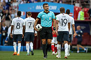 Referee Sandro Meira Ricci of Brazil during the 2018 FIFA World Cup Russia, Group C football match between Denmark and France on June 26, 2018 at Luzhniki Stadium in Moscow, Russia - Photo Thiago Bernardes / FramePhoto / ProSportsImages / DPPI