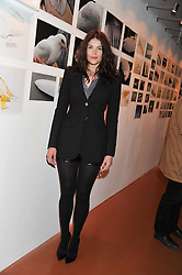 GEMMA ARTERTON at the launch of Flight BA2012 - an evening of Art, Food and Film to see Olympic Games inspires work by rising British Talent held at BA's pop up venue at 3-10 Shoreditch High Street, London E1 on 3rd April 2012.