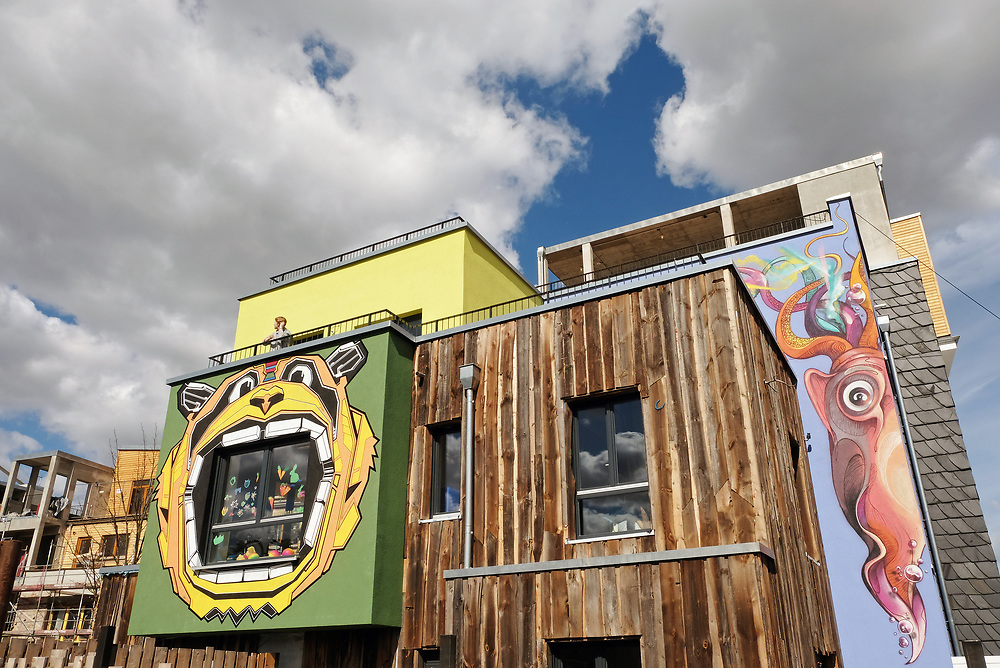 Germany - Deutschland - HOLZMARKT Projekt ; Bar 25 / Katerblau / Fame Restaurant, Kita + Le Doerf .... Baustelle, Berlin 06.04.2017 ; © Christian Jungeblodt