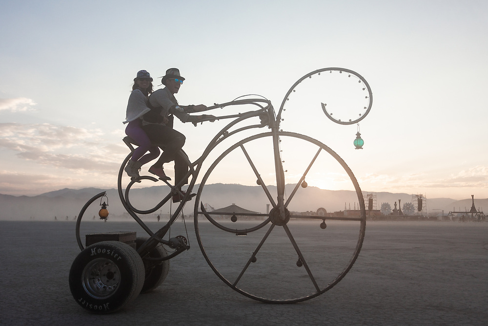 I've tried to photograph these fine folks several times over the years and I always mess something up. Maybe I'll get a perfect image next year. My Burning Man 2018 Photos:<br />