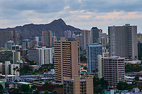 Diamond Head Crater & Honolulu Skyline