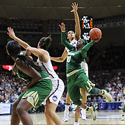 STORRS, CONNECTICUT- NOVEMBER 17: Alexis Jones #30 of the Baylor Bears drives to the basket while defended by Gabby Williams #15 of the UConn Huskies during the UConn Huskies Vs Baylor Bears NCAA Women's Basketball game at Gampel Pavilion, on November 17th, 2016 in Storrs, Connecticut. (Photo by Tim Clayton/Corbis via Getty Images)