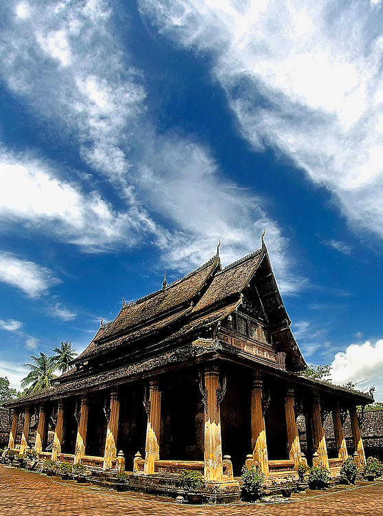 Wat Sisaket, Vientiane.
