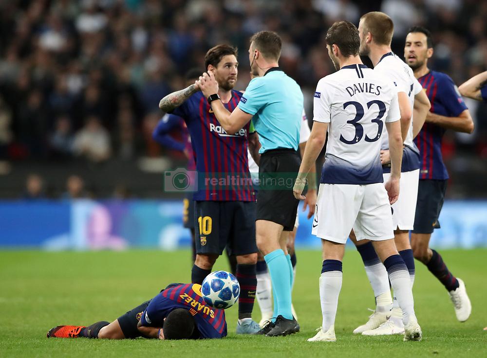 صور مباراة : توتنهام - برشلونة 2-4 ( 03-10-2018 )  38929232