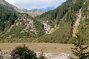 Stubai Valley landscape, Tyrol, Austria