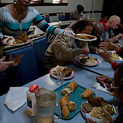 "A former casino chef, Webster, 74, found her calling when she saw a man rummaging through a garbage can in search of food. Now she runs a soup kitchen that feeds up to 400 homeless people a day, five days a week in the dinning room of the First Presbyterian Church of Atlantic City. No one is turned away. Jean has been called ""Sister Jean"" or ""Saint Jean"" or ""the Mother Teresa of Jersey.""  She also offers employment counseling and a program designed for transitional housing."