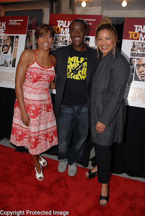 Taraji Henson, Don Cheadle, Kasi Lemmons