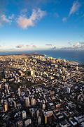 Aerial, Honolulu, Oahu, Hawaii