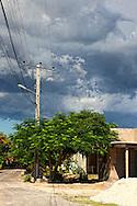 Street in Cabot Cruz, Granma, Cuba.