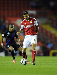 Bristol City's Marlon Pack  - Photo mandatory by-line: Joe Meredith/JMP - Tel: Mobile: 07966 386802 27/08/2013 - SPORT - FOOTBALL - Ashton Gate - Bristol - Bristol City V Crystal Palace -  Capital One Cup - Round 2