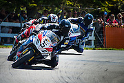 Scott Moir from Taupo in the F1 Superbike race at the Cemetery Circuit Road Races, Wanganui, Boxing Day which was the 3rd and final round of the 2014 Suzuki Series