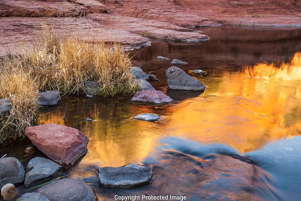 Slide Rock State Park, Oak Creek Canyon, Sedona, Arizona