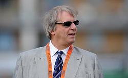 Chairman of the ECB Giles Clarke looks on- Photo mandatory by-line: Harry Trump/JMP - Mobile: 07966 386802 - 21/07/15 - SPORT - CRICKET - Women's Ashes - Royal London ODI - England Women v Australia Women - The County Ground, Taunton, England.
