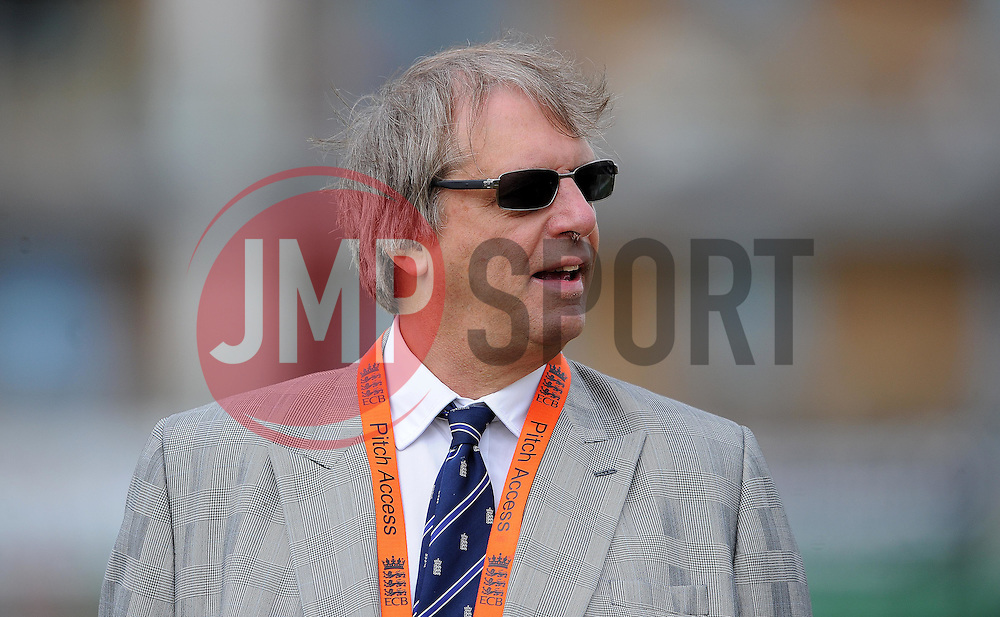 Chairman of the ECB Giles Clarke looks on- Photo mandatory by-line: Harry Trump/JMP - Mobile: 07966 386802 - 21/07/15 - SPORT - CRICKET - Women's Ashes - Royal London ODI - England Women v Australia Women - The County Ground, Taunton, England.