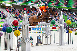 Maikel Van Der Vleuten, (NED), VDL Groep Verdi TN NOP - Team & Individual Competition Jumping Speed - Alltech FEI World Equestrian Games™ 2014 - Normandy, France.<br /> © Hippo Foto Team - Leanjo De Koster<br /> 02-09-14