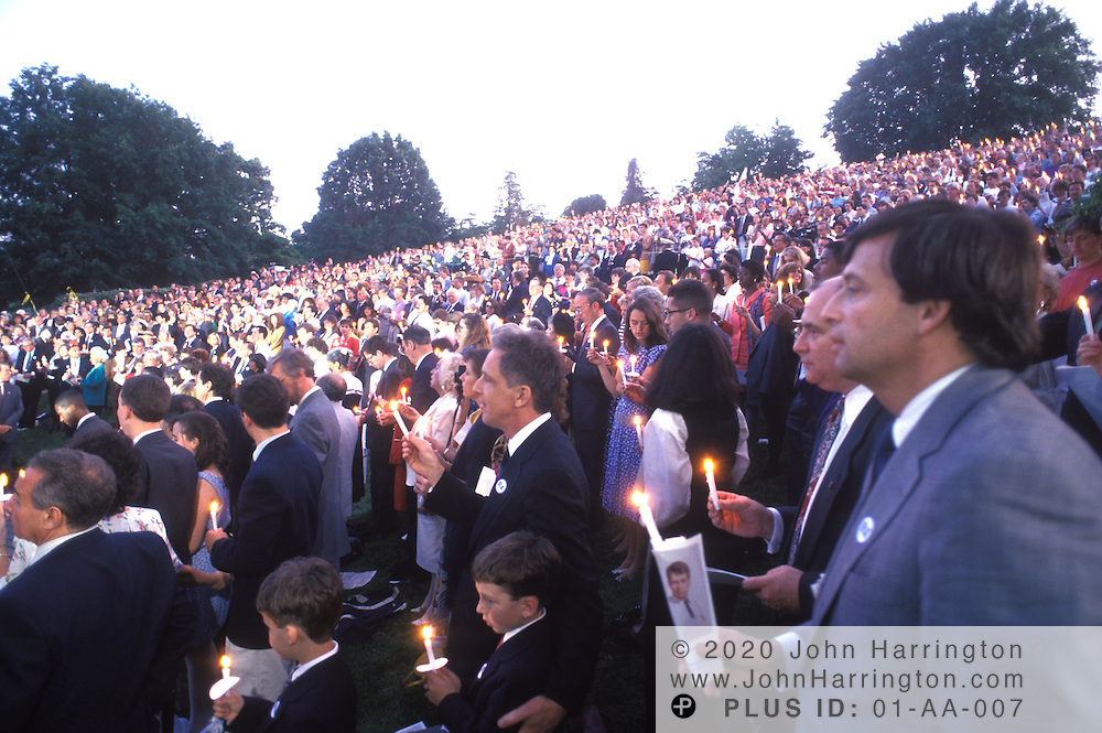 ROBERT F. KENNEDY MEMORIAL SERVICE, WITH BOBBY KENNEDY.